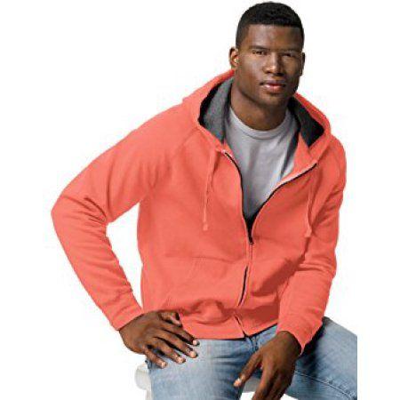 571881fb5 Hanes Men's Big Nano Premium Soft Lightweight Fleece Full Zip Hoodie, Size:  2XL, Green