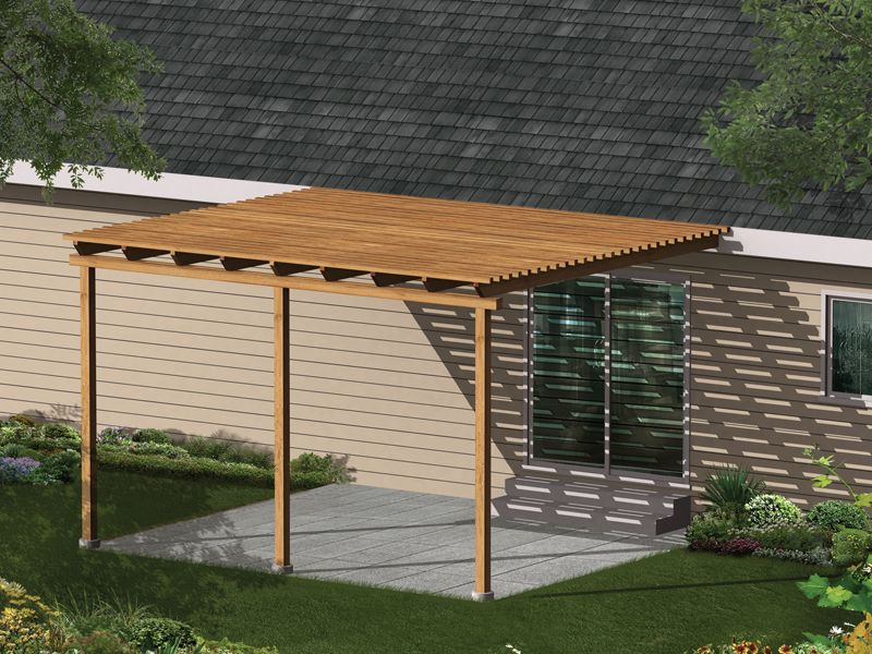 Kelsey Patio Cover Covered