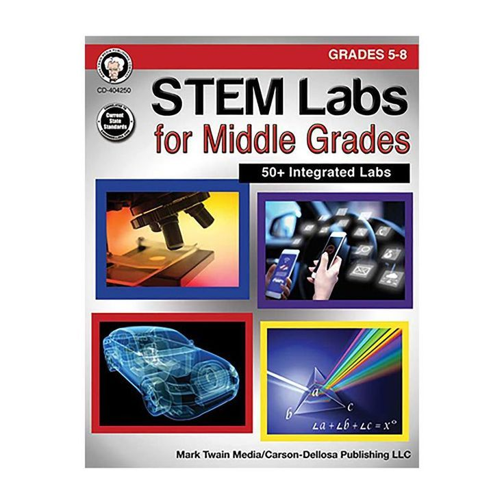 Stem Labs For Middle Grades Gr 6 8 Stem Lab Teaching Stem Stem Middle School