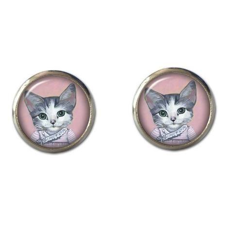 Miss Tallulah Kitten Earrings - Tessies