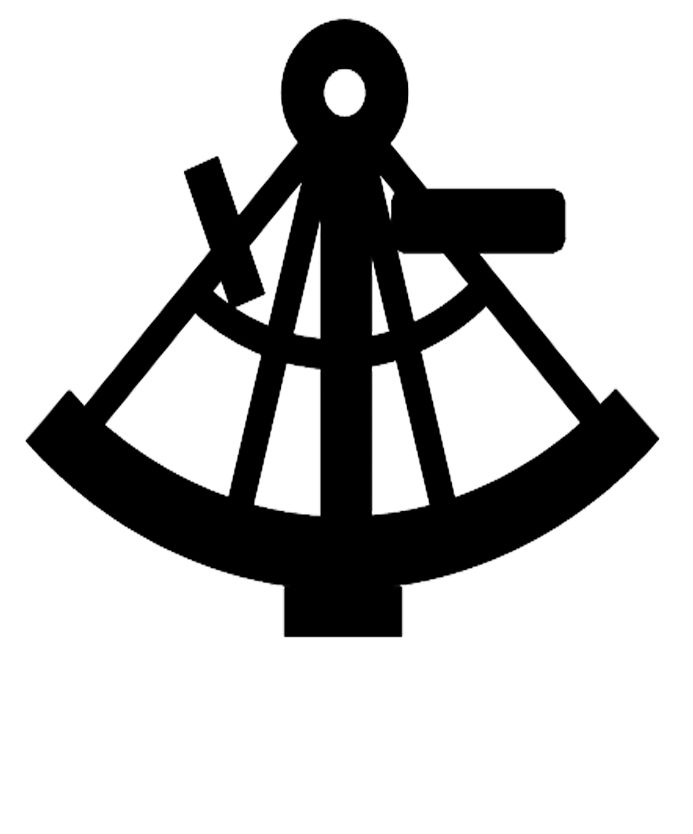 Sextant Silhouette