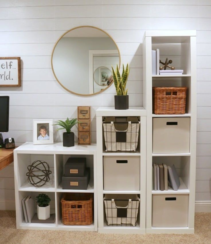 Study Room Organization. Via The Design Twins #organization #storage #studyroom …