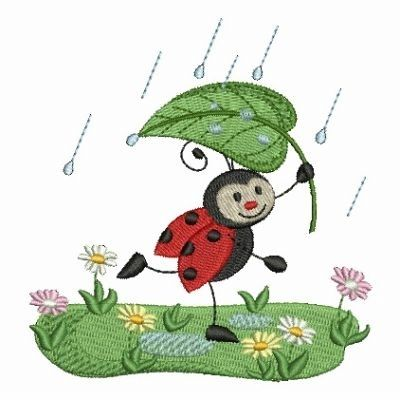 Lively Ladybugs 7 4x4 Machine Embroidery Pinterest 4x4