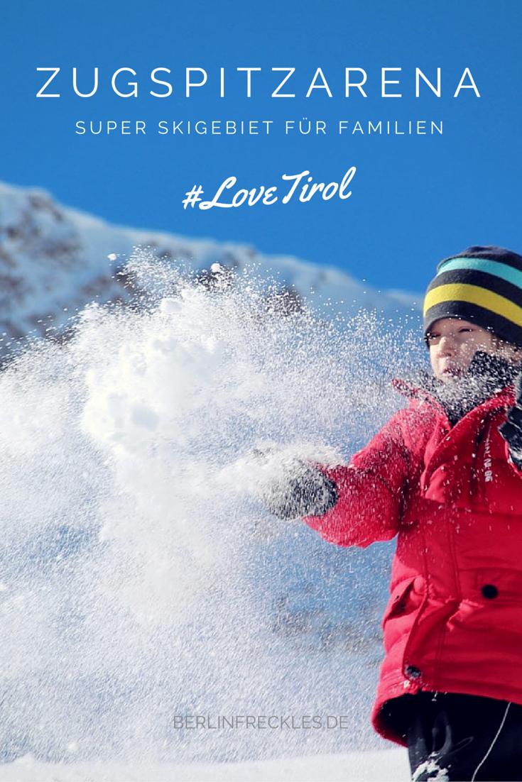 Super Skigebiet für Familien: Die Tiroler Zugspitzarena in Österreich…