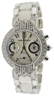 Harry Winston Premier 18k White Gold Watch