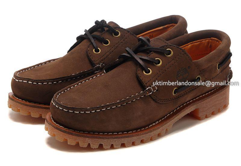 bfc3f5de780e Men s Timberland Authentics 3-Eye Classic Lug Shoes Brown   79.00 ...