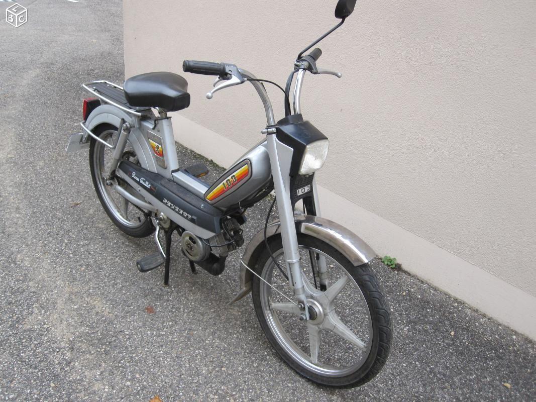 Peugeot 103 Mv Avec Carte Grise Moto