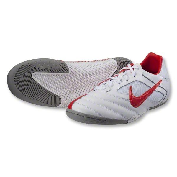 0b185e67c95 Nike5 Elastico Pro Indoor Soccer Shoes (White Medium Grey Max Orange ...
