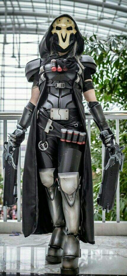 female reaper cosplay reaper gender bend cosplay overwatch hero