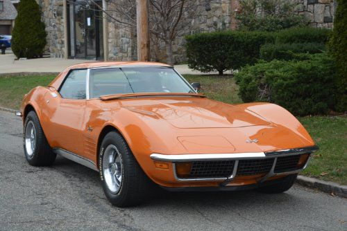 This 1972 Chevrolet Corvette Stingray Convertible Is A Beautiful Matching Numbers Driver Original Colo Chevrolet