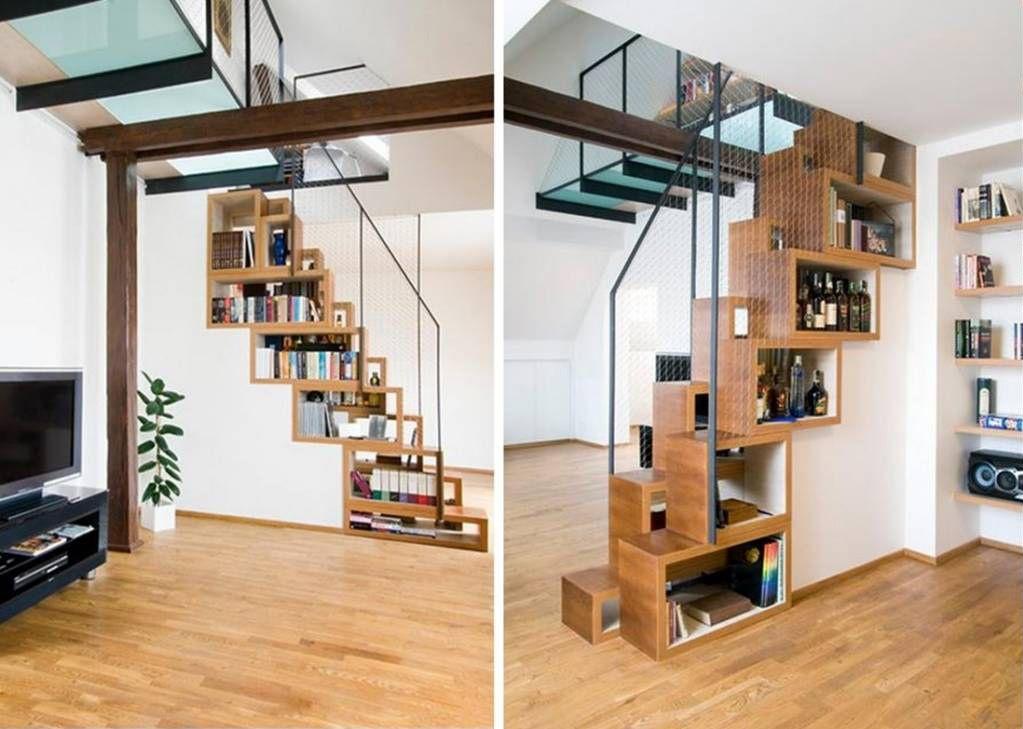 40 idee scale moderne per interni - küche selbst bauen