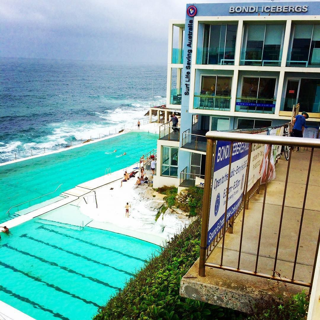 No matter the weather Bondi is always beautiful.. And none more beautiful than the iconic Bondi Icebergs. Excellent cuisine brilliant bar and the view to die for! @mybondisummer @icebergsclub #bondibeach #bondiicebergs #sydneybars #sydneyrestaurants #sydneylocal #easternbeach by mybondisummer http://ift.tt/1JtS0vo