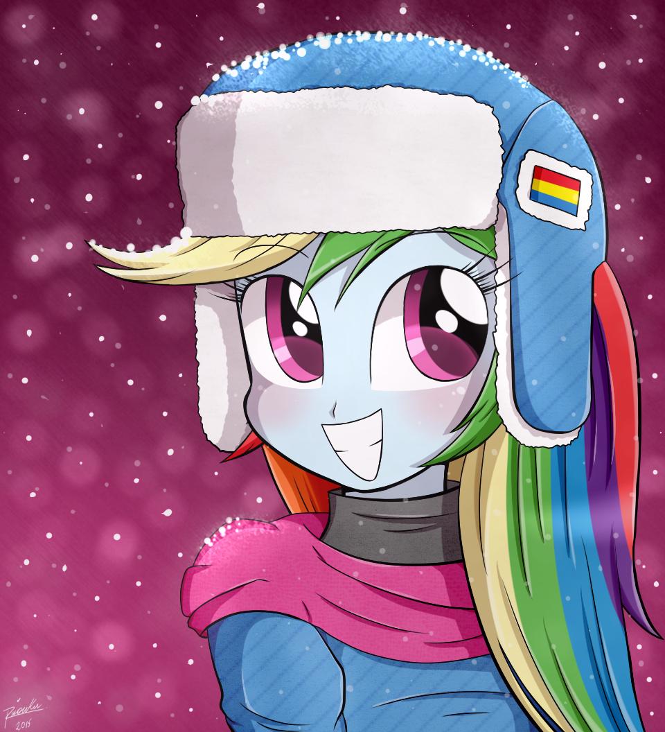 Cute Girl Rainbow Dash by Riouku My Little Pony Human