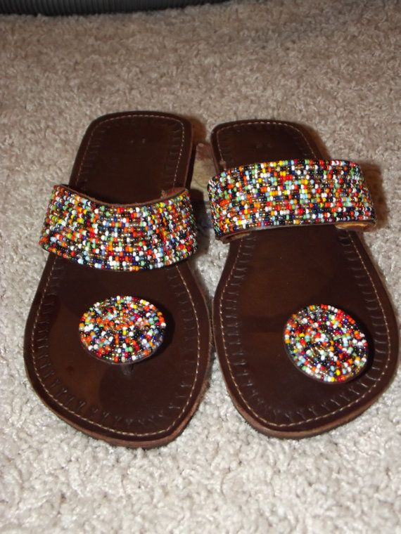 Kenyan African Sandals By Jaluo On Etsy 28 00 My Style
