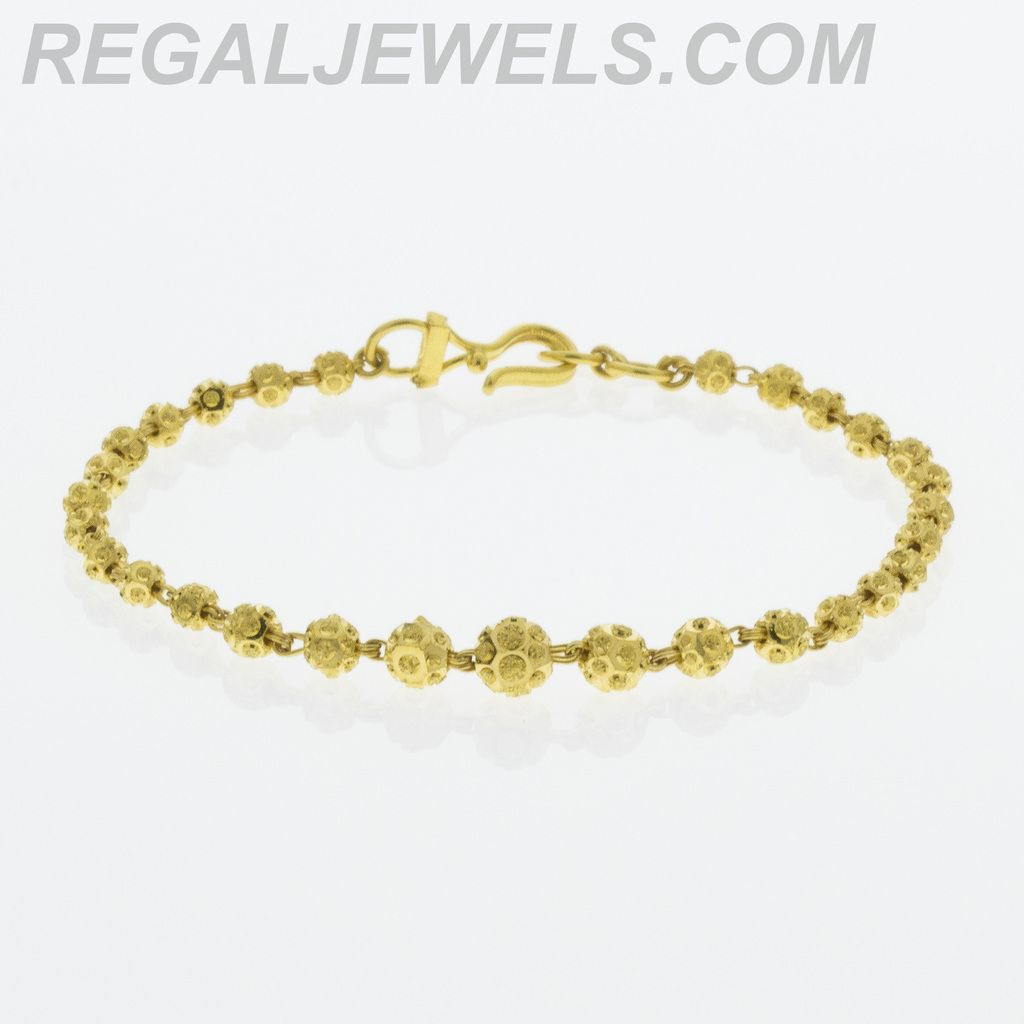 ball azendi vermeil gold jewellery chain bracelet