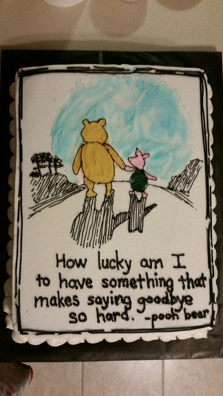 Farewell Cake Sayings : farewell, sayings, Goodbye, Michelle, Biggs, Cake,, Farewell, Decorating