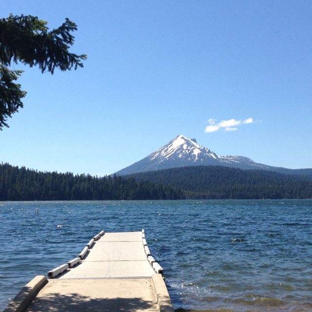 Lake Of The Woods... That's Mt McLoughlin On The Other