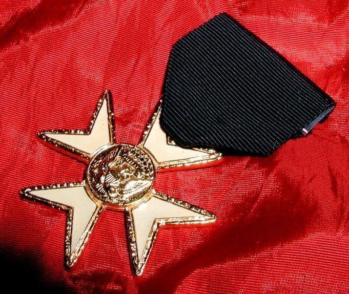 Classic Usa Eagle Masonic Knights Of Malta Enamel Jewel Appendent