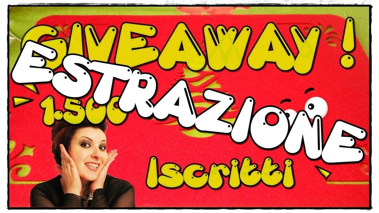 ESTRAZIONE Giveaway #1 - 3 Vincitori! • •• AhC •• •