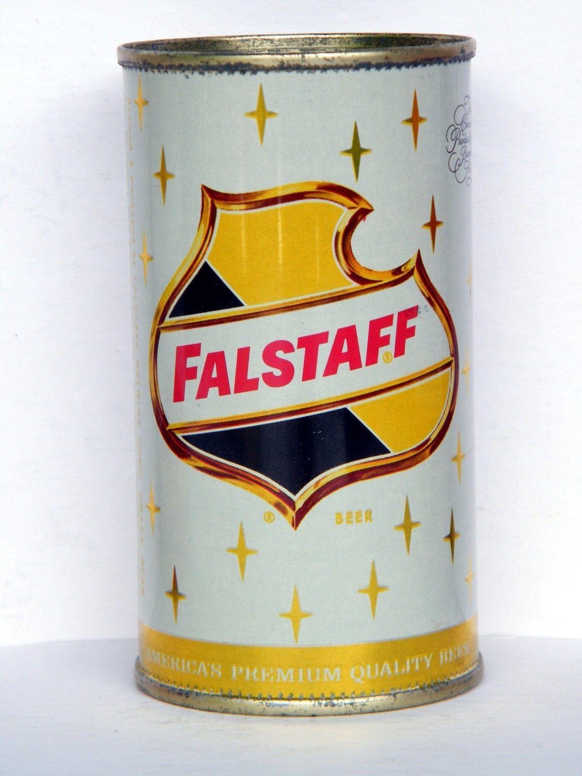 FALSTAFF Flat Top Beer Can, Omaha, Nebraska | eBay | Beer ...
