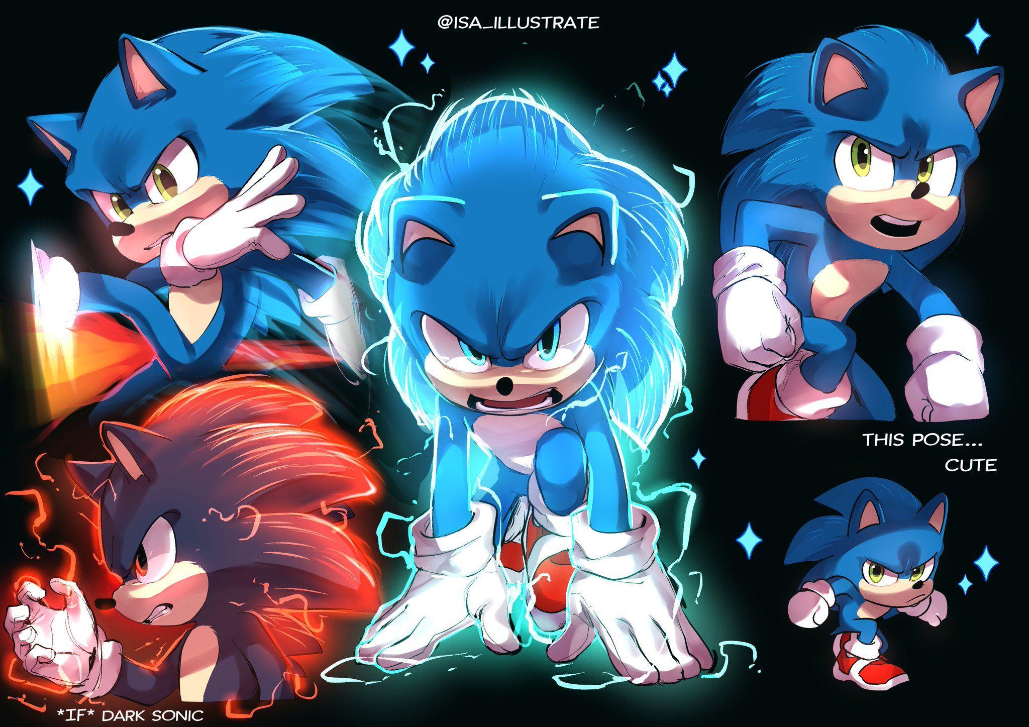 이사isa On Twitter In 2020 Hedgehog Movie Sonic The Hedgehog Sonic