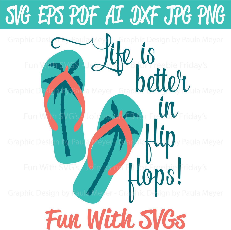 f6158db7acab7 Flip Flops SVG