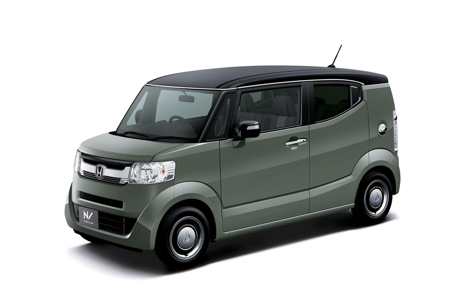 Honda Updates Its Slick Little N Box Slash Kei Car Carscoops Kei Car Suv Cars Honda
