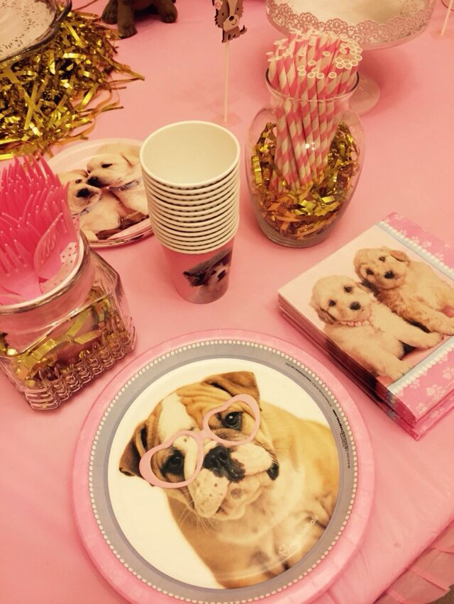 Puppy plates