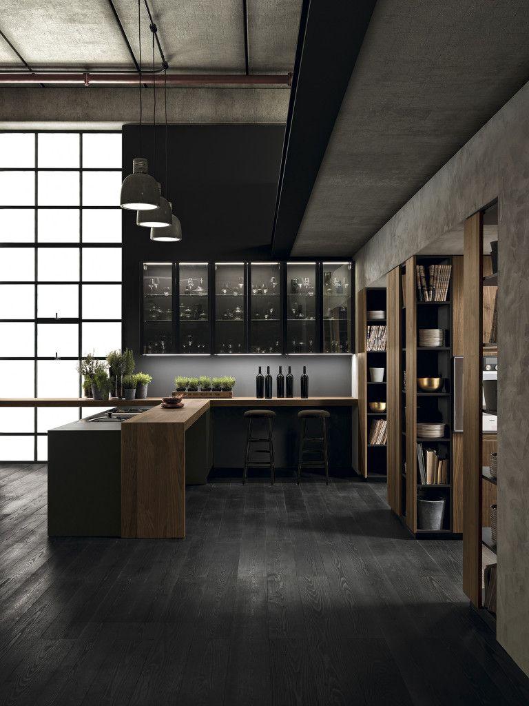 Scatto rid interiorismo pinterest kitchens