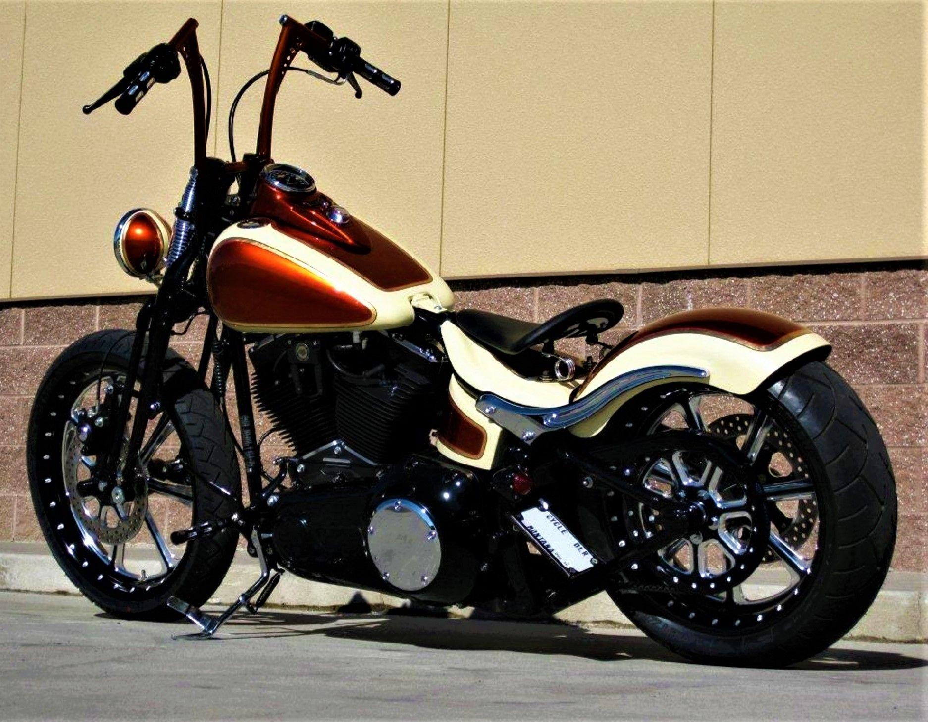 Mind Blowing Custom Harley Davidson Crossbones Bobber Motorcycle Harley Davidson Harley Davidson Bikes [ 1458 x 1874 Pixel ]