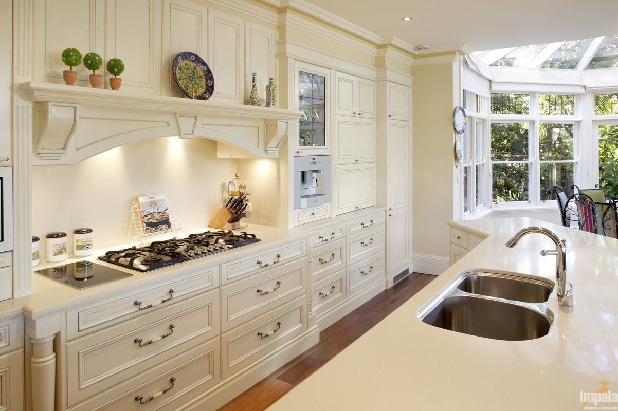 HANDPAINTED PROVINCIAL KITCHEN ....... #impalakitchens #wardrobes ...