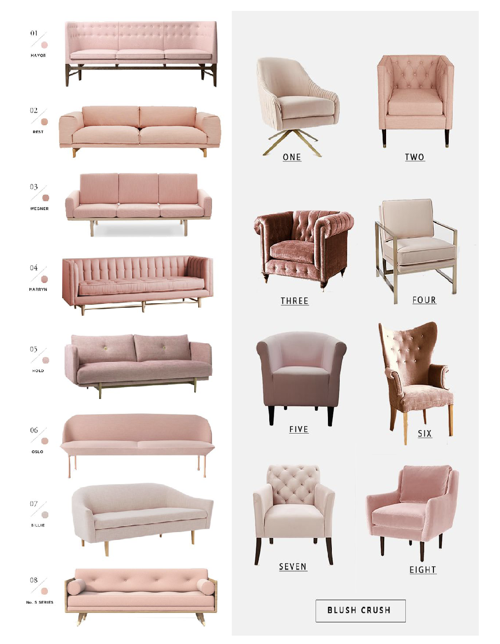 Living Room Interior Design Pdf: Blush Crush: Why We're Putting This Color In Our Home NOW
