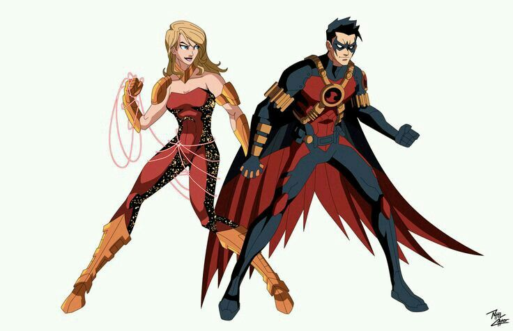 Red Robin and Wondergirl