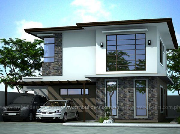 Modern zen cm builders inc philippines home ideas for Zen minimalist house design