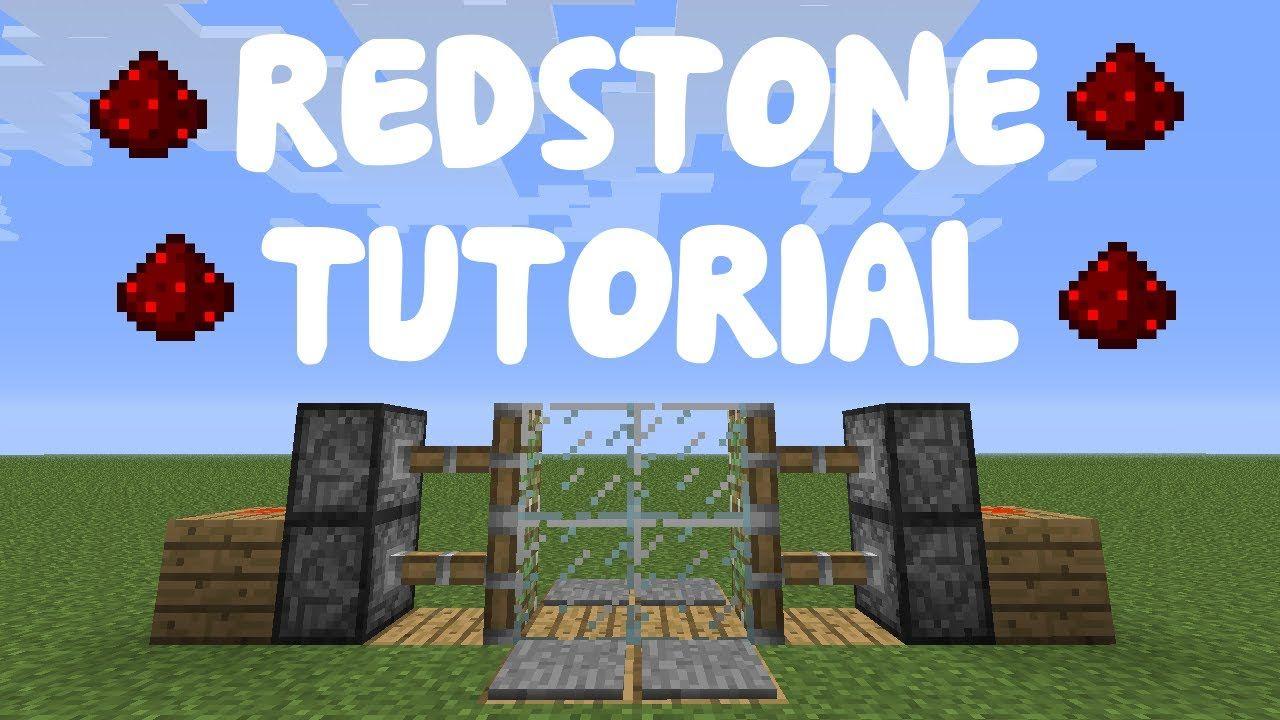 Minecraft 1.9 Redstone Tutorial Compact 2x2 Piston Door
