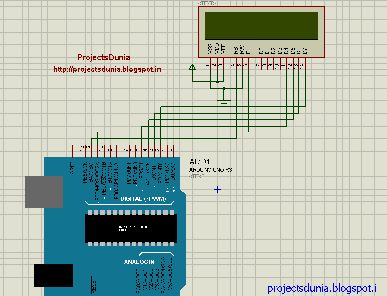 Circuit diagram of lcd interfacing arduino circuit pinterest circuit diagram of lcd interfacing asfbconference2016 Images