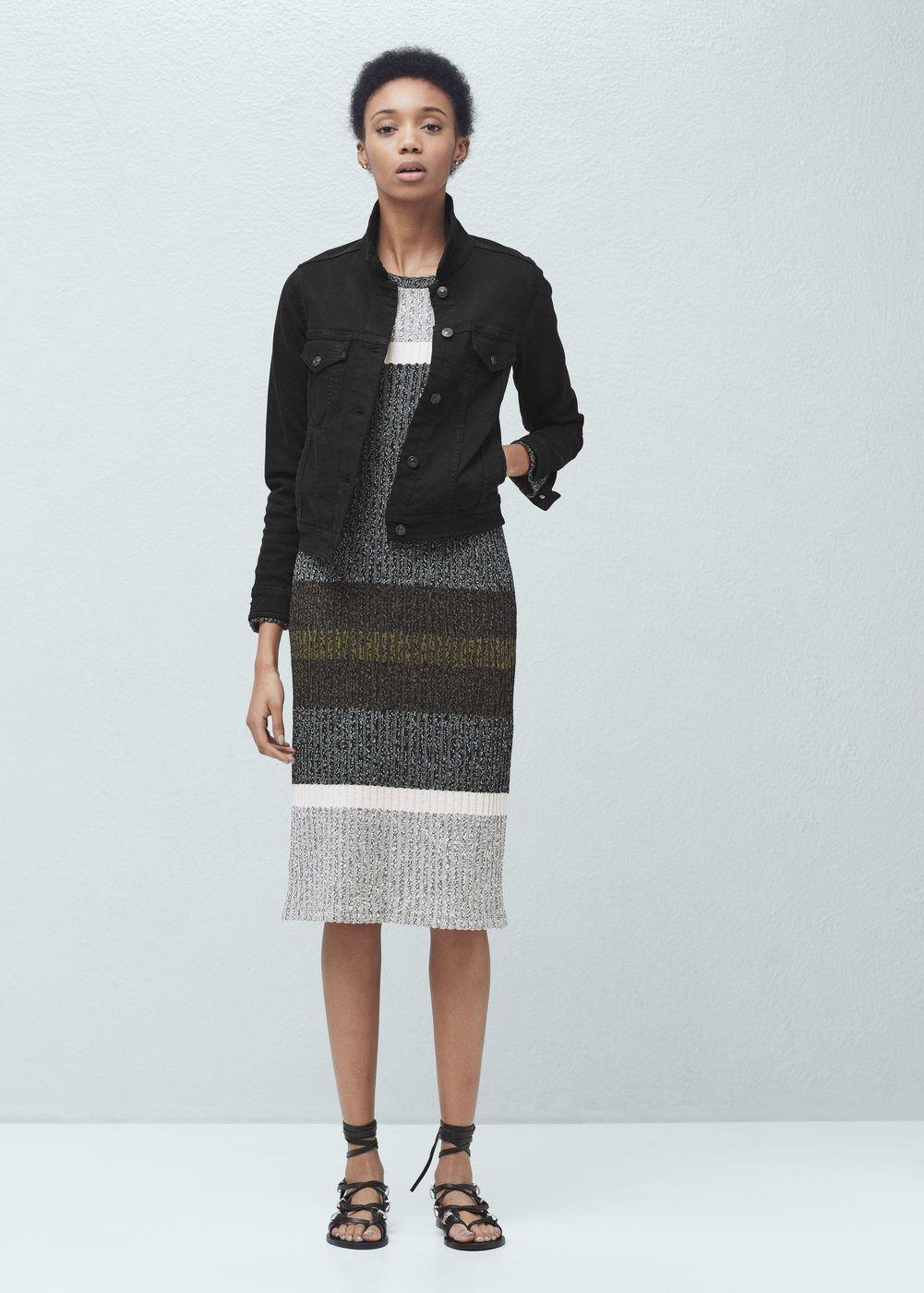 1d65ce2512 Black denim jacket - Women