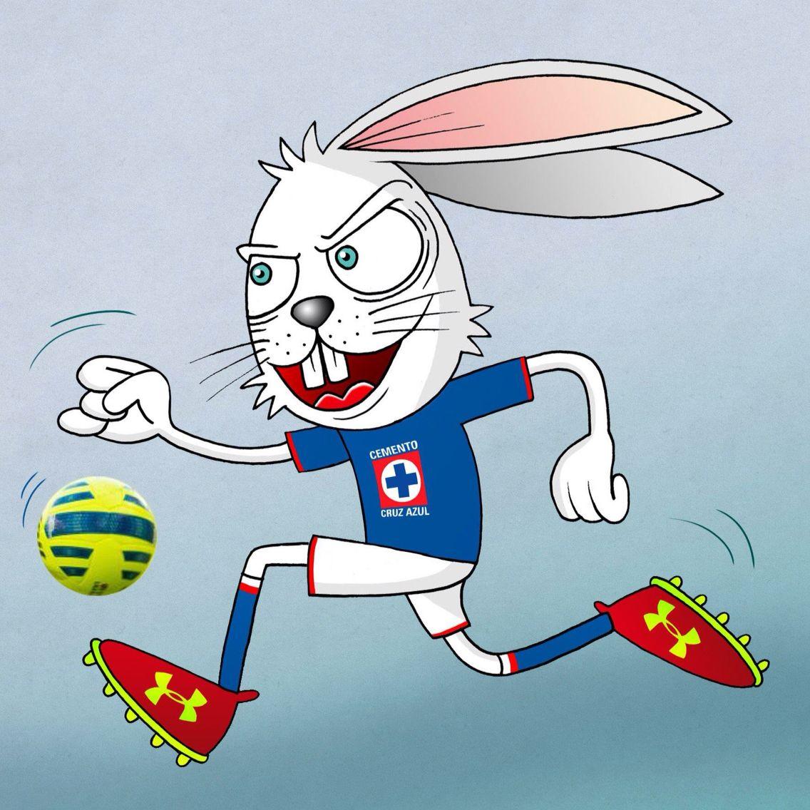 Conejito Azul   Cruz azul FC   Football, Disney characters ...