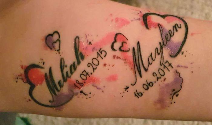 Photo of Tatuajes con nombres de niños: ¡orgullosos padres debajo de la piel! ›Sparbaby.de