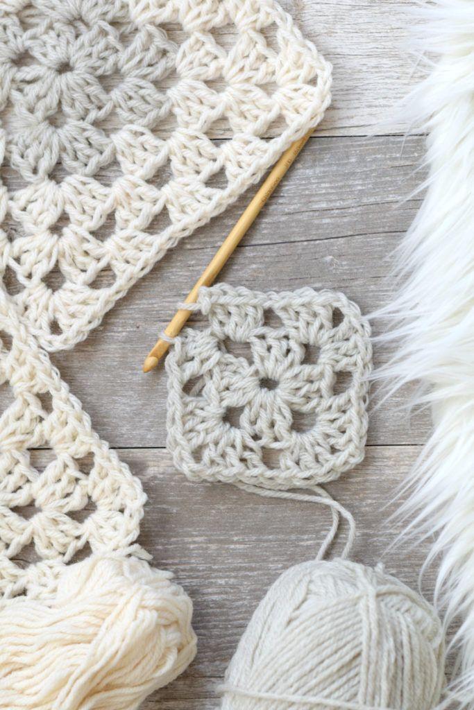 Arlo Granny Square Crocheted Cardigan Pattern | tejer | Pinterest ...