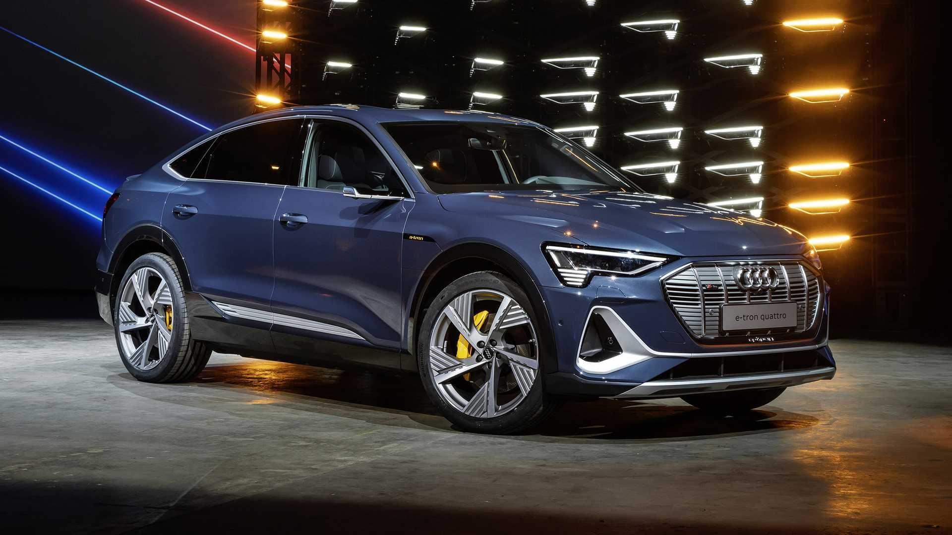 Audi etron Sportback nouveau SUV coupé 100 électrique