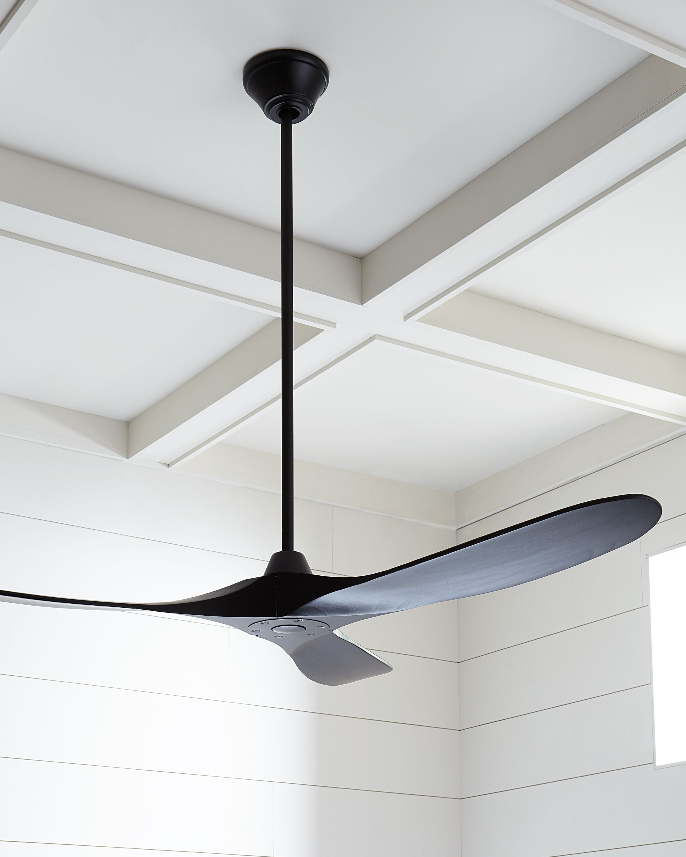 Black Carlo Ceiling Matte Maverick Modern Monte In 2020 Ceiling Fan Modern Ceiling Fan Modern Ceiling