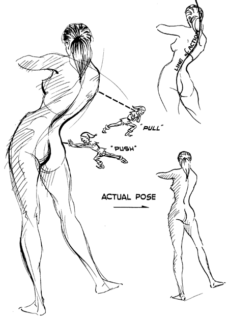 female figure drawing methods and techniques for beautiful