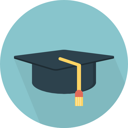 Student Hat Free Vector Icons Designed By Pixel Perfect Icon Design Vector Icon Design Art Drawings Simple