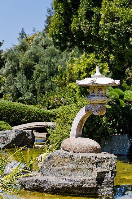 Garden Lantern Garden Lanterns Asian Garden Japanese Garden