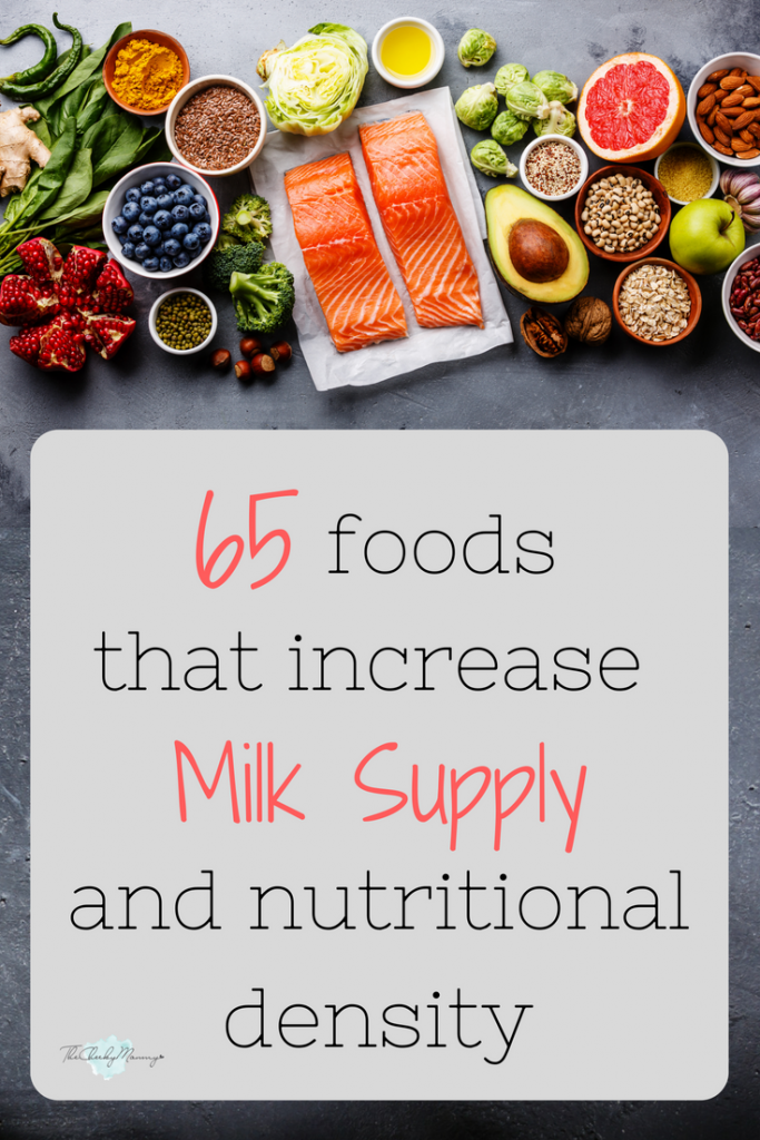 65 Top Lactogenic Foods To Increase Milk Supply Fast 65 Top Lactogenic Foods To Increase Mil In 2020 Breastfeeding Foods Increase Milk Supply Fast Increase Milk Supply