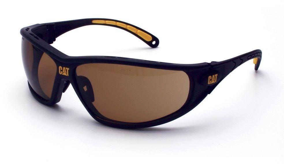 Caterpillar eyewear shop safety glasses tread brown lens