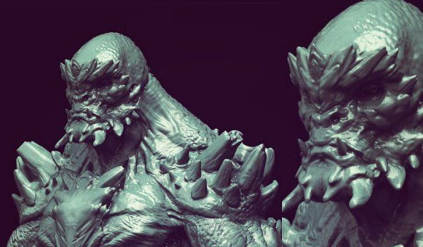 Batman v Superman: Dawn of Justice Concept Art for Doomsday! | Concept art, Batman v superman: dawn of justice, Batman v