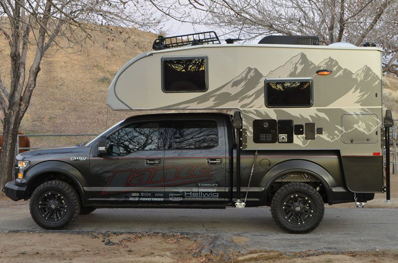 2016 Lance 650 Overland Edition | Bathrooms | Truck bed
