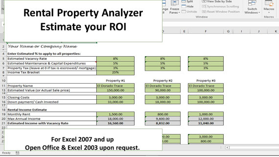 Investment Property Calculator Investing Investment Property